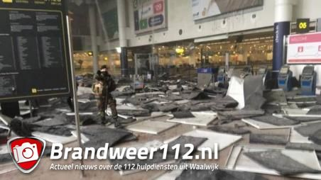 Waalwijkse Hanneke van Oudheusden ooggetuige bomaanslag Zaventem