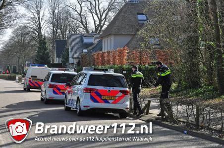 Politie zoekt inbreker aan de Meerdijk Waalwijk
