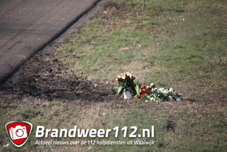 Vrienden herdenken man (25) die omkwam op A59 bij Waalwijk / Sprang-Capelle