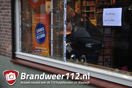 Veel schade bij inbraak Primera aan de St. Antoniusstraat Waalwijk