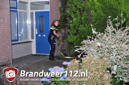 Poging brandstichting aan de Dr. Kuyperlaan Waalwijk