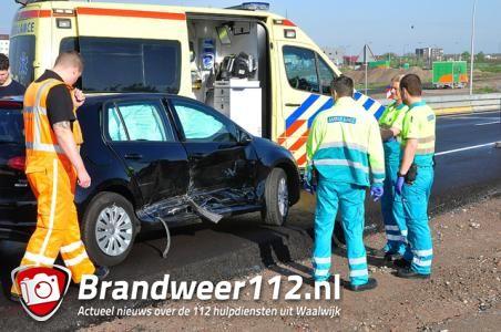 Weer een ongeval op de Midden-Brabantweg Waalwijk