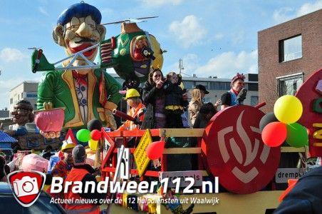 Carnavals optocht in Schoenlapperslaand Waalwijk