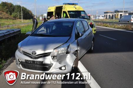 Ongelukken op Midden-Brabantweg, files richting de Efteling