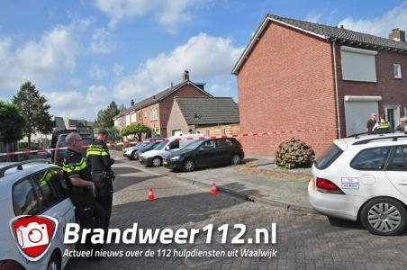 Xtc-lab ontdekt in een woonwijk in Waalwijk