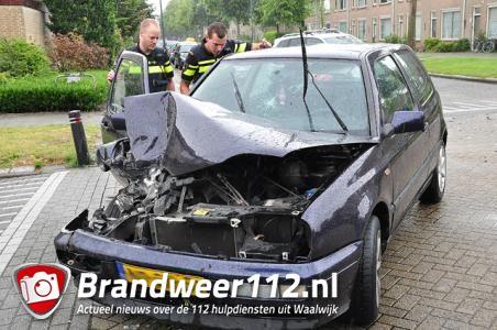 UPDATE: Flinke aanrijding op kruising aan de Prof. Nolenslaan Waalwijk