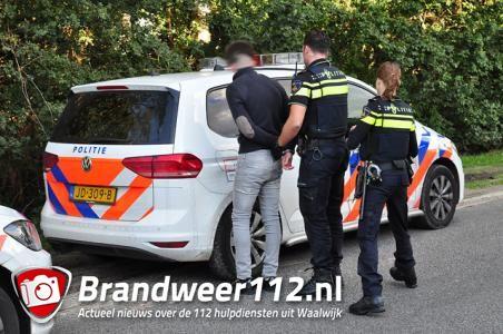 Grote politiemacht voor burenruzie in Waalwijk, twee mannen opgepakt