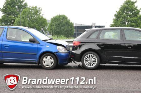 Ongeval op de A59 (Maasroute) Waalwijk