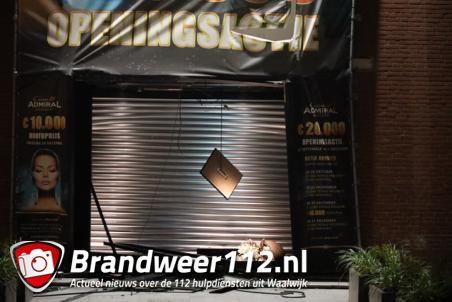 Ramkraak op casino Admiral in Waalwijk