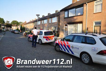 Vechtpartij aan de Domela Nieuwenhuisstraat Waalwijk