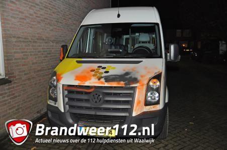 Tientallen auto's beklad aan het Diederikhof Waalwijk