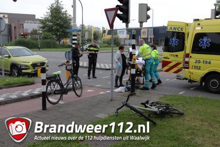 Vrouw aangereden door vrachtwagen aan de Prof. Kamerlingh Onnesweg Waalwijk
