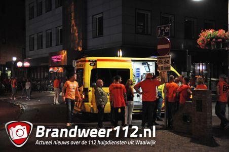 Jongen gewond bij café aan de Grotestraat Waalwijk