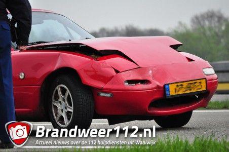Aanrijding op de Midden-Brabantweg Waalwijk