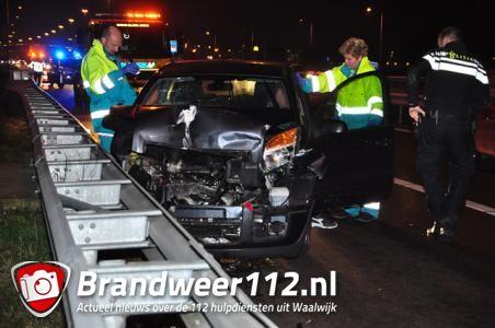 File door ongeluk op A59 bij Waalwijk