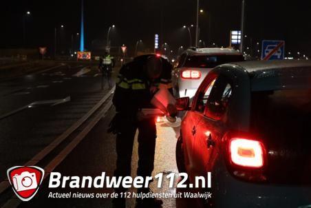 Politie controleert direct op naleven avondklok in Waalwijk