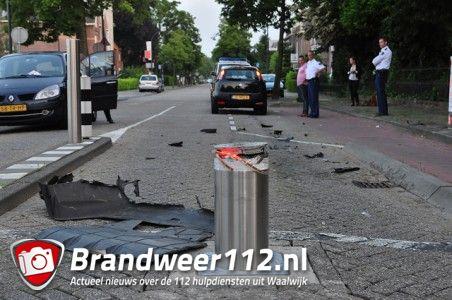 Slaappaal weer aangereden aan de Meester van Coothstraat Waalwijk