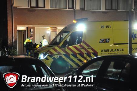 Hulpdiensten rukken massaal uit naar de Richard Wagnerstraat Waalwijk