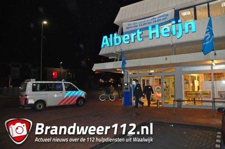 Omstander ziet persoon met bivakmuts op aan De Els Waalwijk