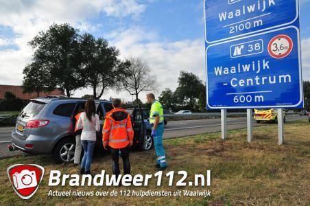 UPDATE: Verkeersruzie op A59 bij Waalwijk eindigt voor oudere man in ziekenhuis