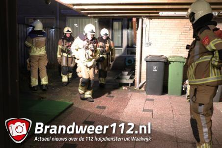 Brandgerucht in woning aan de Henk Badingspark Waalwijk