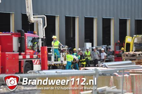 Ernstig ongeval bij bol.com aan de Kloosterheulweg Waalwijk