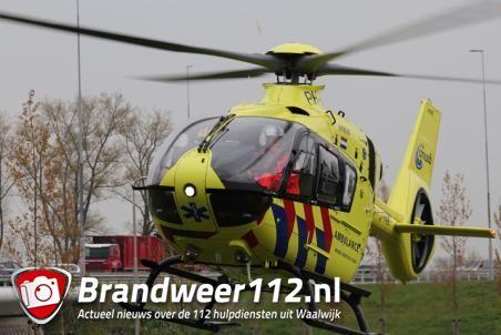 Traumahelikopter ingezet bij incident aan de Betsy Perkstraat Waalwijk