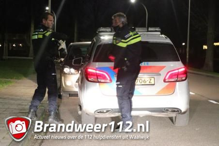 Veel politie eenheden voor incident aan de Max Bruchstraat Waalwijk