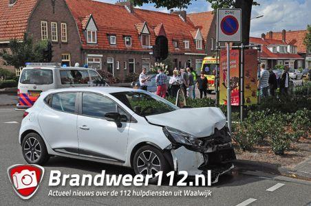 Weer een aanrijding op kruising aan de Putstraat Waalwijk