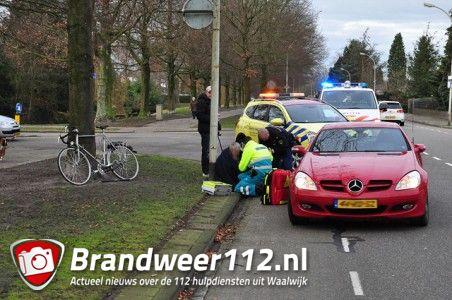 Fietser gewond na aanrijding aan de Groenewoudlaan Waalwijk