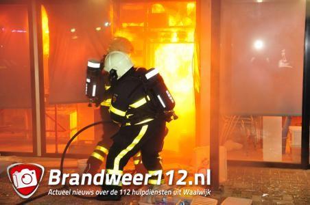 Brand in pand van Kadoshop Paspartoe – Prisma Waalwijk