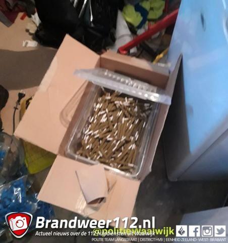 Honderden joints en softdrugs in beslaggenomen aan de Noordstraat Waalwijk