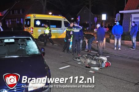 Flinke aanrijding op kruising aan de Putstraat Waalwijk