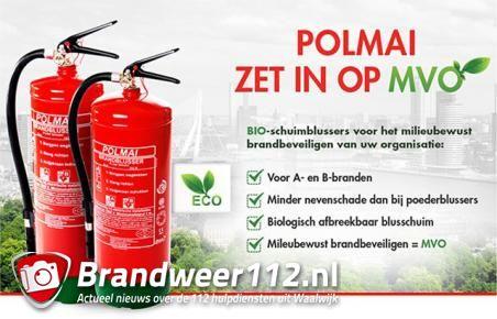 Win een gratis brandblusser via brandweer112.nl in samenwerking met Brandblusser XL