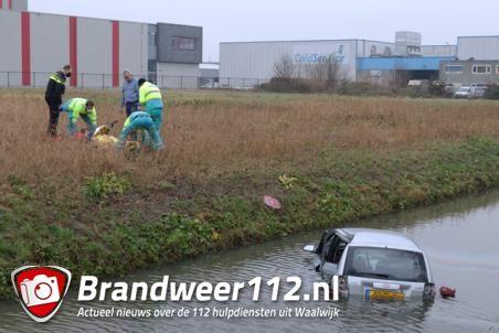 Man raakt gewond bij ongeval aan de Sluisweg Waalwijk