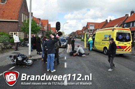 Foto-Update: Jongen zwaargewond na aanrijding met auto aan de Putstraat Waalwijk