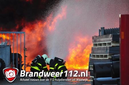 Er wás vuurwerk in pand brand Waalwijk: 'Maar dat was niet de oorzaak'