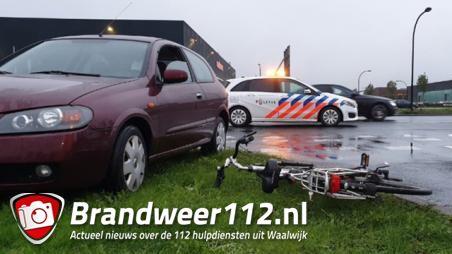Automobilist met verlopen rijbewijs rijdt fietser aan in Waalwijk