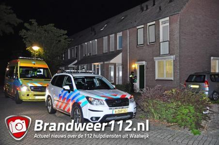 Dode man gevonden in woning aan de Mina Krusemanstraat Waalwijk