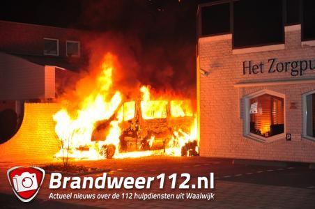 Kleinzoon redt oma bij brand Margrietstraat Waalwijk