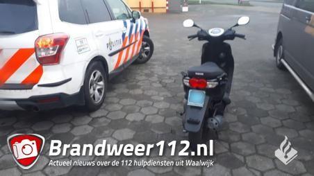Minderjarigen aangehouden voor heling scooter in Waalwijk