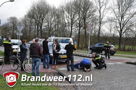 UPDATE: Vrouw aangereden en gewond geraakt aan de Akkerlaan Waalwijk