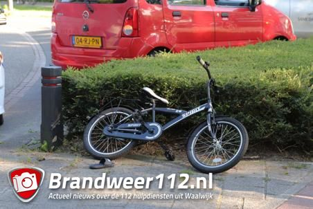 Jongetje aangereden aan de Van der Merwedelaan Waalwijk