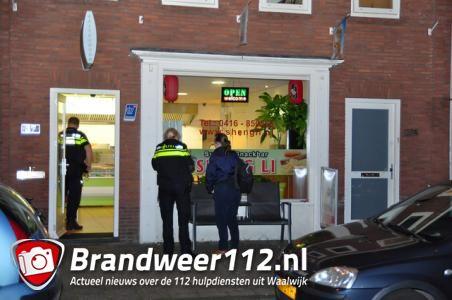 Gewapende overval op sushi-frietzaak in Waalwijk, daders ontkomen