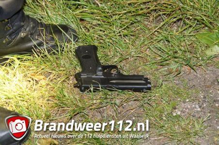 Auto van de weg geraakt op Midden-Brabantweg in Waalwijk