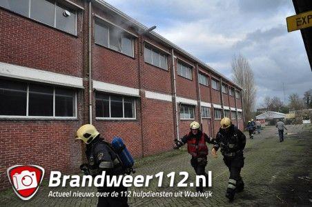 Binnenbrand aan de Taxandriaweg Waalwijk