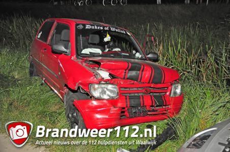 Ongeval aan de Meidoornweg Waalwijk