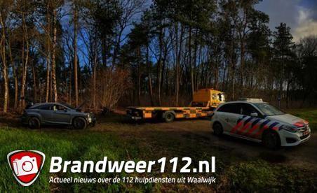 Gestripte Lexus uit Waalwijk aangetroffen in bosgebied bij de Moer