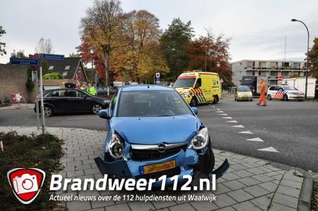 Twee vrouwen en jongetje gewond bij ongeluk Waalwijk