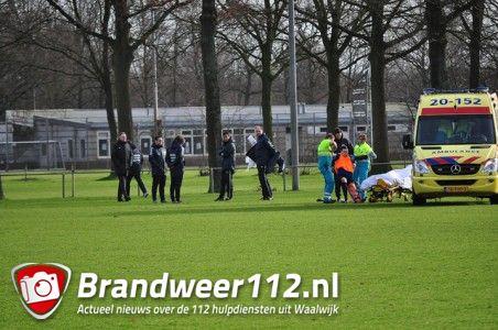 Keeper raakt gewond tijdens training RKC aan de Akkerlaan Waalwijk